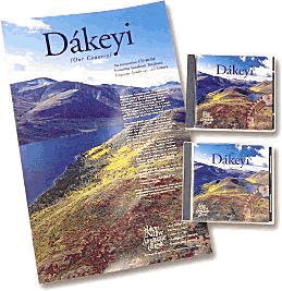 picture of Dakeyi poster and CDs
